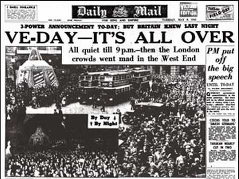 VE Day-Victory in Europe | History of Sorts