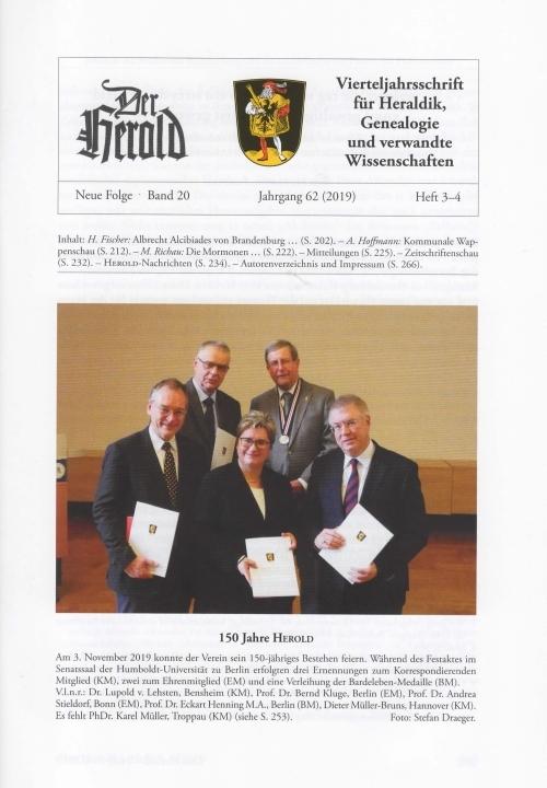 Herold Heft 3-4 2019