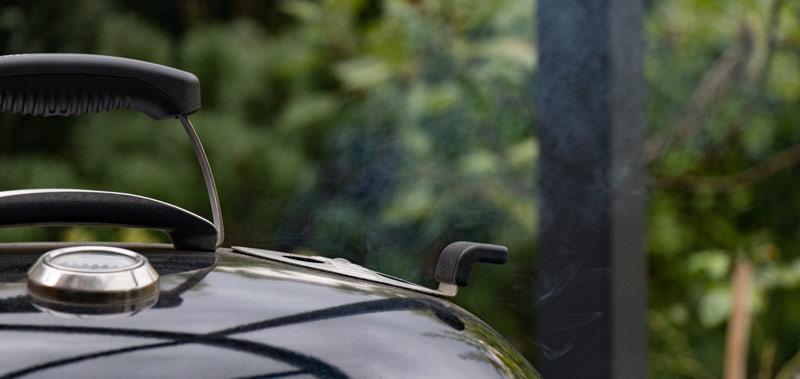 Deckel-Lüftungsregler Holzkohlegrill