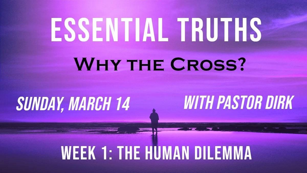 Why the Cross? Week 1 Logo