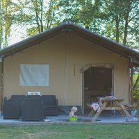Glamping: in een safaritent slapen bij De Achterste Hoef
