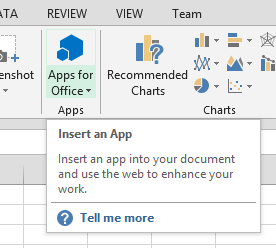 Excel Apps for Office 2013