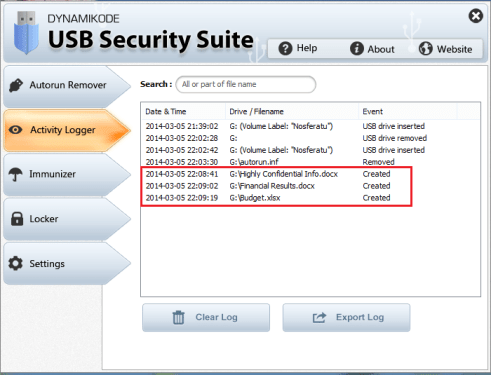 USB Security Suite