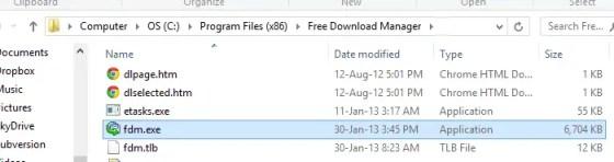 Open File Location