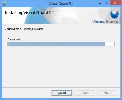Installing Visual Guard