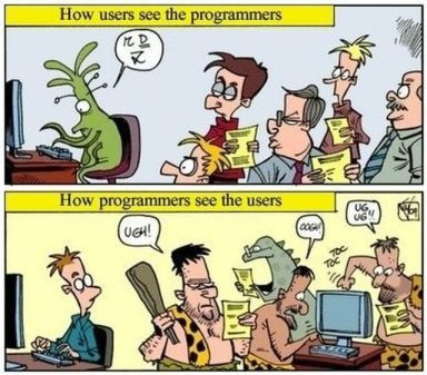 Y2K how programmers see users