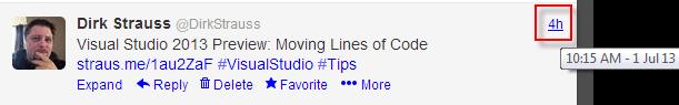 dirk strauss tweet example