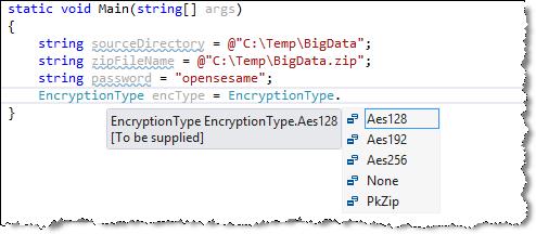 DevExpress Document Server Encryption Type