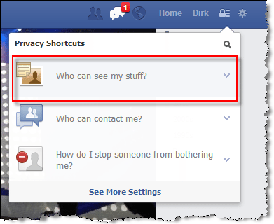 Facebook Privacy who can see my stuff