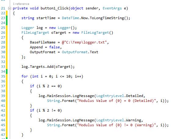 crypto logger for net code