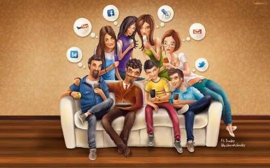 Social Media Family