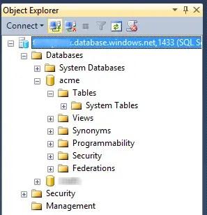 Azure Databases