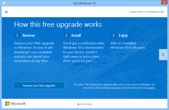 Windows 10 Launches July