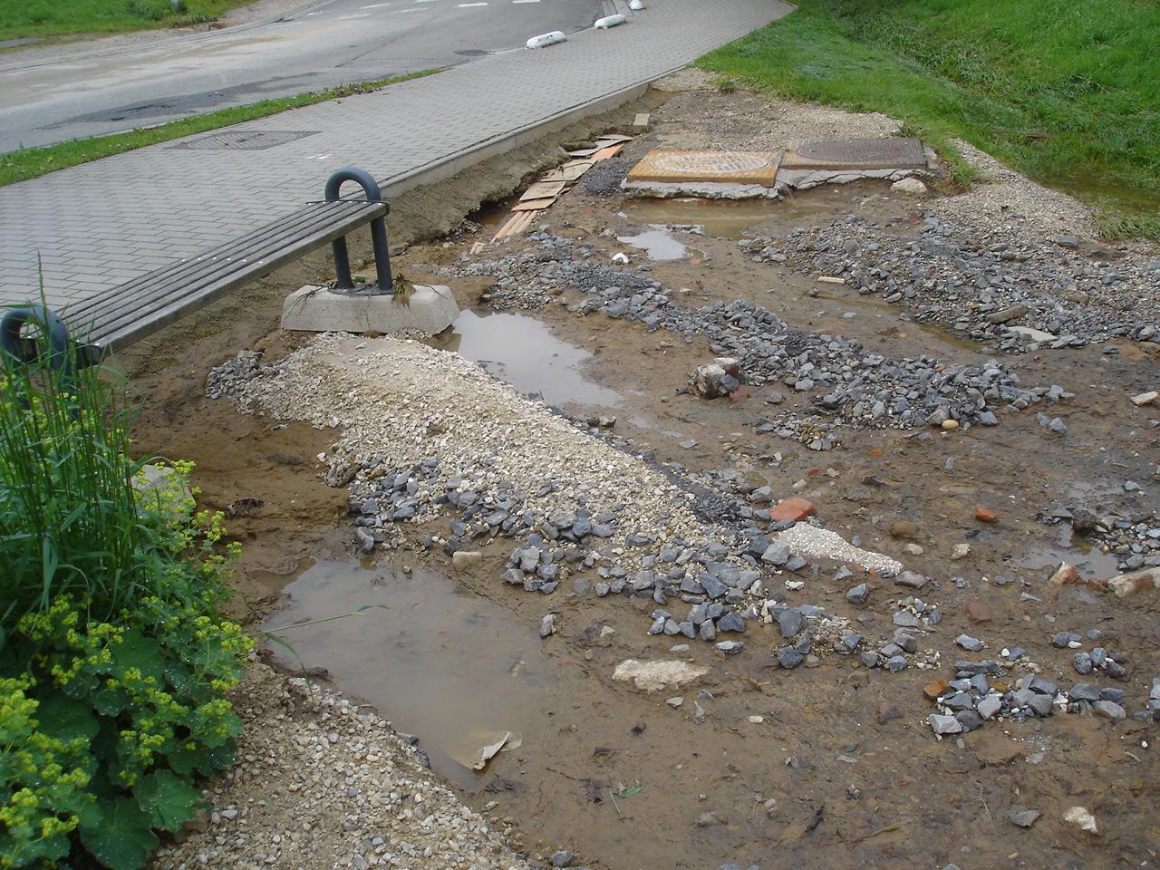 schade aan omgeving watermolen