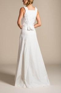 Gössl Hochzeitskleid, Seide weiß