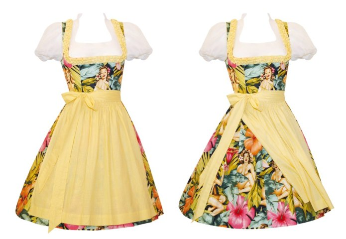 Dirndl Hawaiianddream, Dirndlherz