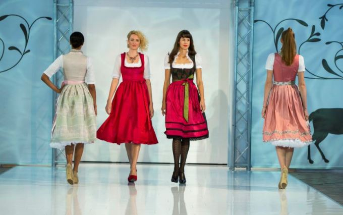 Dirndl News 2014 - Melega Fashion Pressefoto