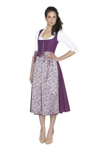 Baumwolldirndl violett Berzaghi Freymann_