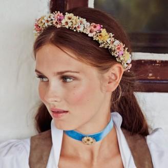 Haarkranz mit Blumen, Haarreif SCHÖNES FRÄULEIN