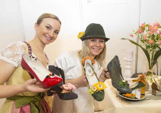 Neue Trachtenschuhe - Trachtenmode Herbst 2017/2018 auf der Tracht & Country 2017, Salzburg - Copyright: Reed Exhibitions Salzburg/Andreas Kolarik