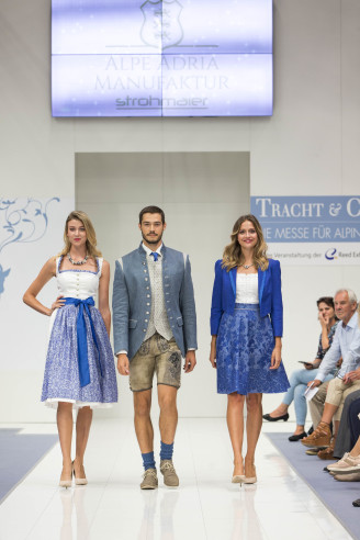 Trachten mode 2018 - Tracht & Country Herbst 2017 - Copyright: Reed Exhibitions Salzburg/Andreas Kolarik
