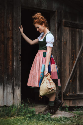 Lena Hoschek Tradition - Patchwork Dirndl