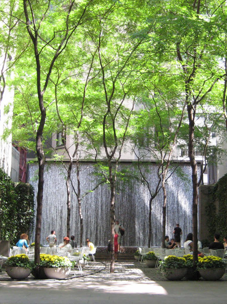 Paley Park / Pinterest