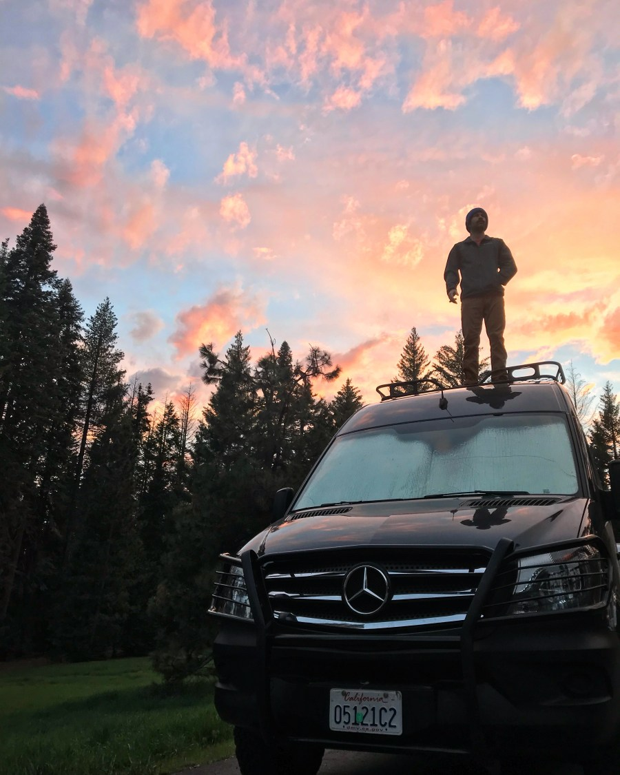 Sprinter in Yosemite