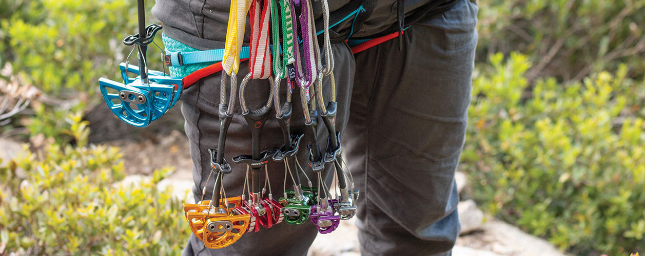 how to build your first trad rack