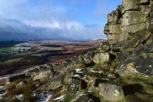peak district, climbing, gritstone