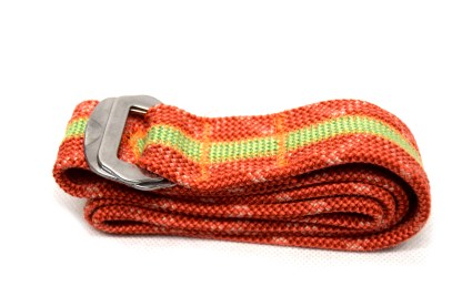 recycled climbing rope belt