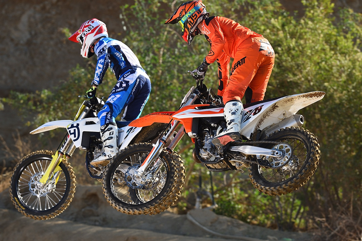 Ktm Vs Husky What S The Real Difference The Wrap Dirt Bike