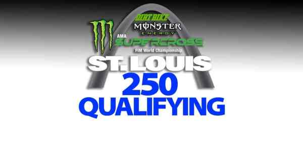 2020 ST. LOUIS SUPERCROSS RESULTS: 250 QUALIFYING   Dirt Bike Magazine