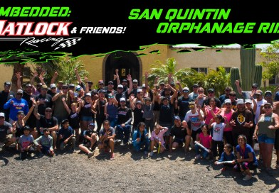 Matlock Racing and 60 Others Visit Baja Children's Orphanage