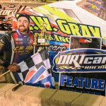 Jason Gray on victory lane
