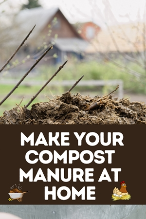 How To Make Compost Manure At Home