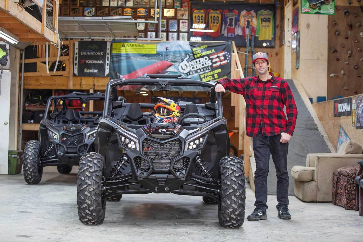 Travis Pastrana Joins the Can-Am Family