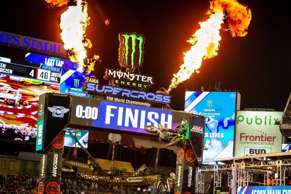 Supercross: Tomac Takes Tampa