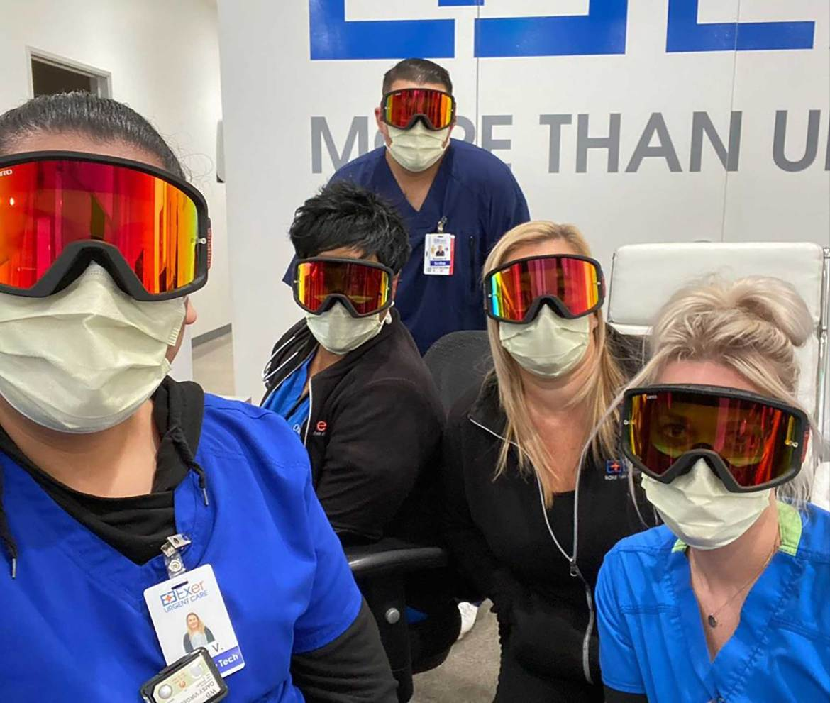 Polaris Donates Goggles to Healthcare Workers and First Responders