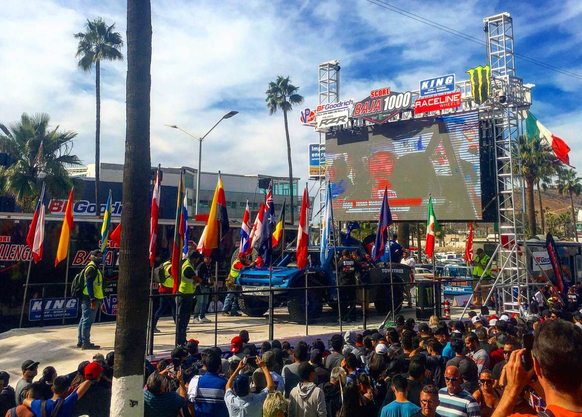 SCORE Sets New Dates for Baja 500