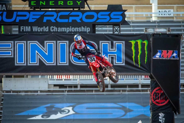 Ken Roczen Grabs a Big Win at Supercross Round 15