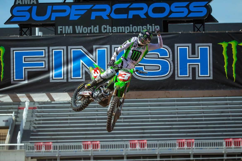 Eli Tomac Wins the Supercross Championship