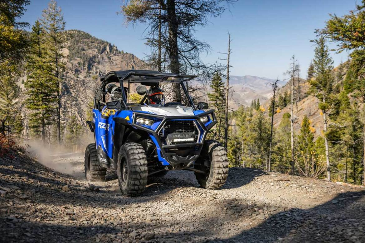 Polaris Releases New Trail RZR Line-Up