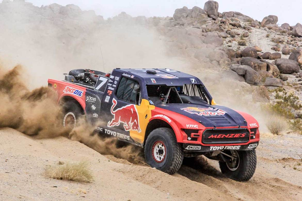 Bryce Menzies Wins Again at King of the Hammers Desert Shootout