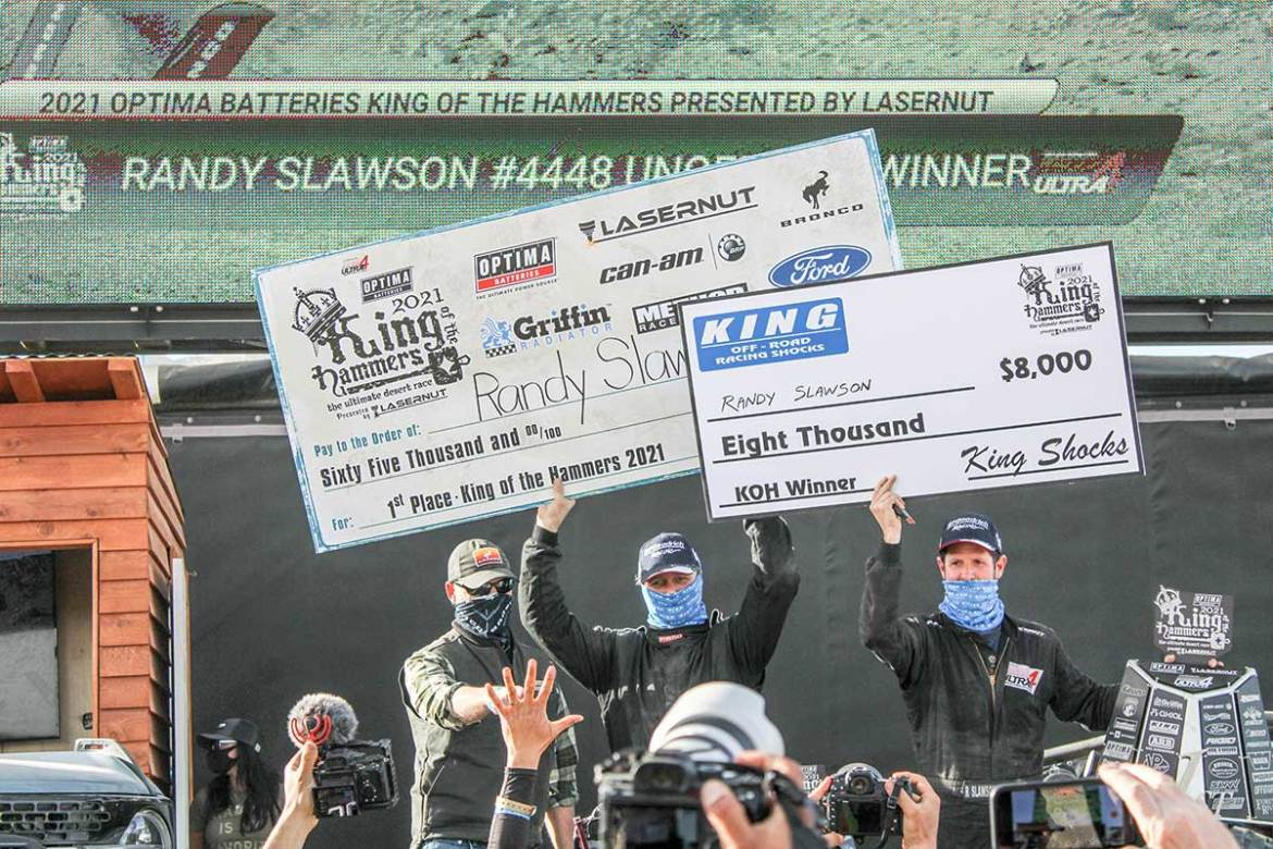Randy Slawson Wins King of the Hammers for the Third Time
