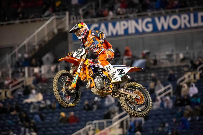 Cooper Webb Tightens Supercross Season Points Battle