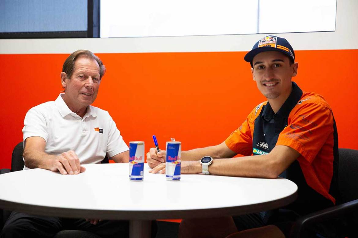 Marvin Musquin Extends Contract with Red Bull KTM