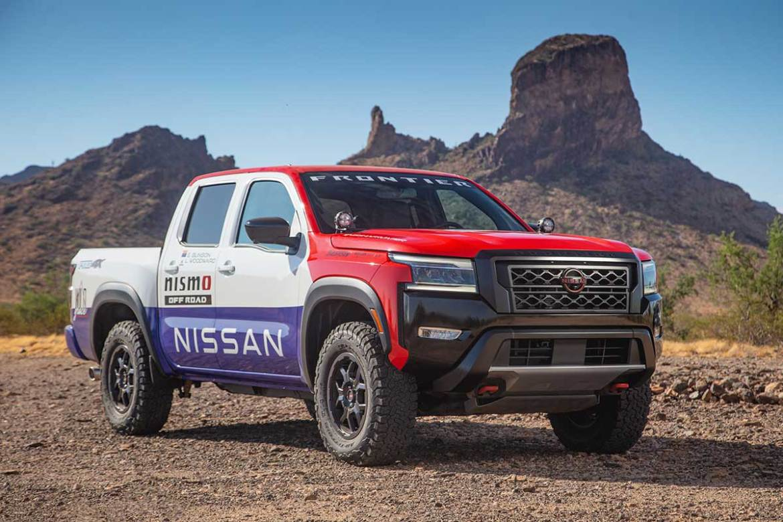 Nissan Unveils Hardbody racer-inspired Frontier for Rebelle Rally