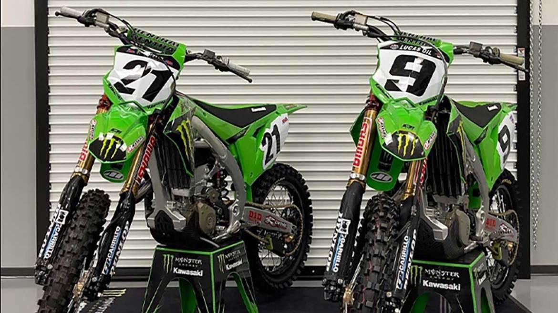 Monster Energy Kawasaki Announces 2022 Rider Line-Up