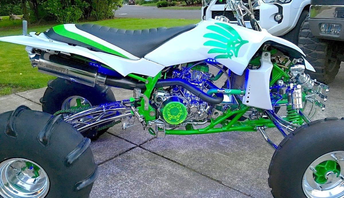 Project Yamaha Yfz450